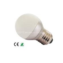 Mini G45 3W LED bombilla casa lámpara de luz de día E27 B22 E14