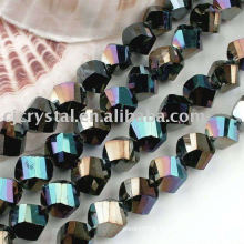 Perles en cristal cristallisées