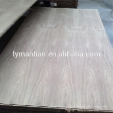 contreplaqué de placage de teck naturel de Birmanie de fl 4mm pour des meubles