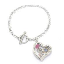 Sterling Silber Cage Gold Charm Großhandel Fashion Doll Anhänger Halskette