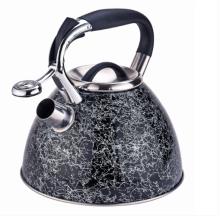 Bouilloire en acier inoxydable avec poignée confortable