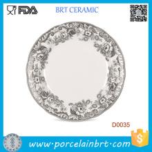 Классический Китайский Inkwash Рисунок Керамическая Плита Веса