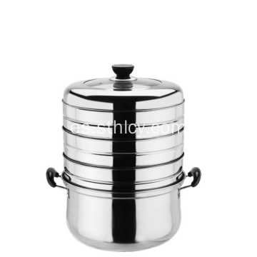 Energy Conservation Multilayers Acero inoxidable Steamer Pot