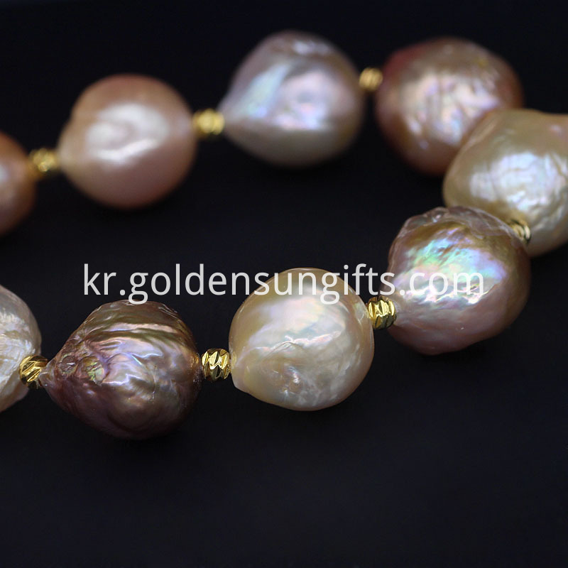 Luster Colorful Baroque Pearl