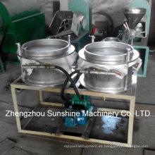 Filtro de aceite de la soja Presione el filtro de vacío de la máquina