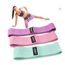 набор эластичных лент для йоги