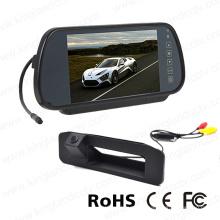 Exhibición del espejo del coche 7inches con la cámara reversa de reserva del coche