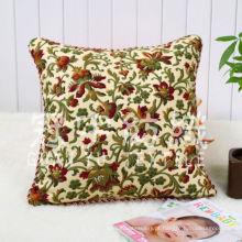 Suede Jacquard para tecidos de capa de almofada quadrada