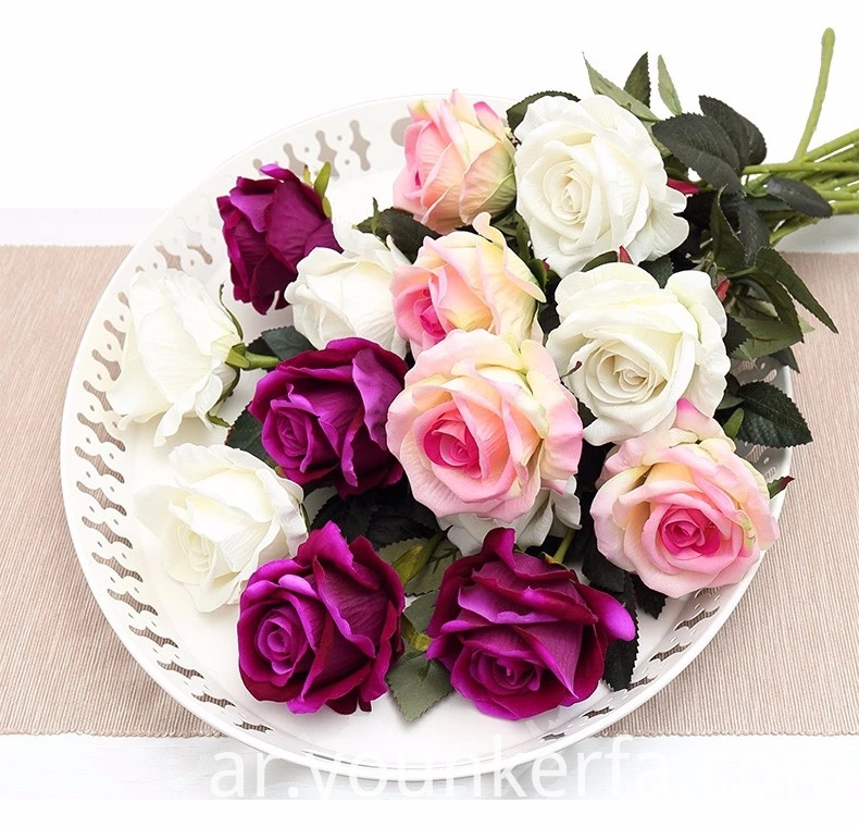 Rose Artificial Flowers 8 Jpg