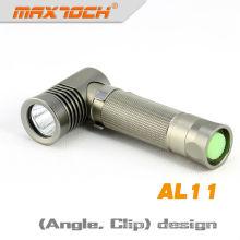 Bolso do diodo emissor de luz do Cree da lanterna elétrica do ângulo de Maxtoch AL11