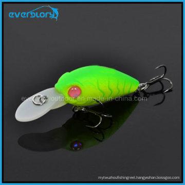 Hot a Mini Swinger Crank Hard Fishing Lures China 35mm 3.8g Crankbait Bkk Hook Depth 1.6-2m Carp Fishing Tackle