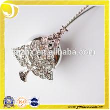 Nuevo diseño de árbol de Navidad personalizado de plata decorativo clip magnético