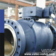 Fully Welded Full Port API 6D Trunnion Mounted A105/F304/F316 Forged Ball Valve