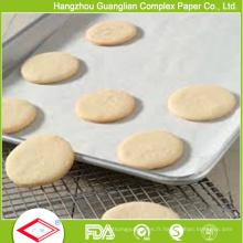 Papier de cuisson de cuisson au four en silicone végétal approuvé par la FDA