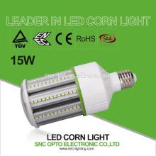 Energy saving CFL MHL HPS HID replacement E27 15w led corn bulb corn lamp