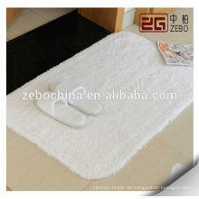 100% Baumwolle Qualitäts-kundenspezifische Stickerei-Firmenzeichen-weiße Terry-Bad-Matte