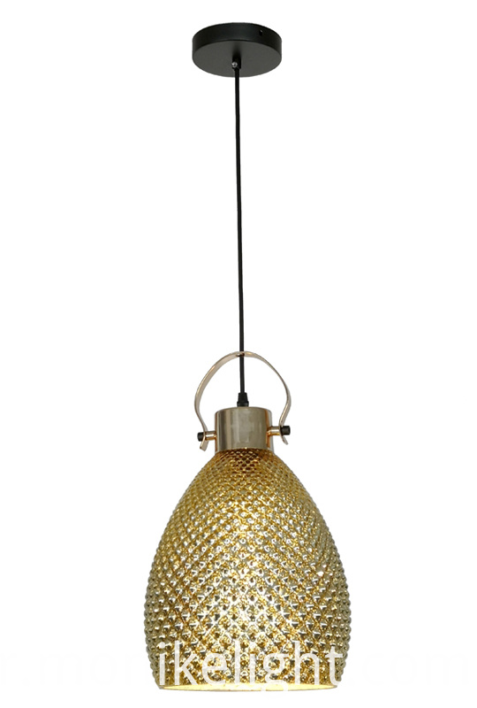 Modern Pendant Light Gold
