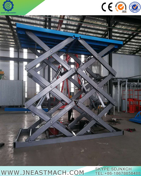 Rise And Fall Smoothly Used Car Lift Electric Platform Lift