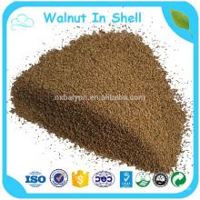 Crushed Walnut Shell geeignet für Medienstrahlen