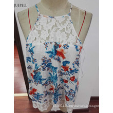 China Factory Stringer Wholesale Lace Tank Top