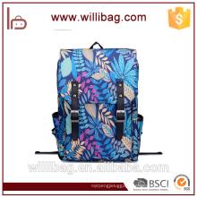 Printing Leaves Backpack Mochila Rucksack Fashion Canvas Bags Retro Casual School Bag Travel Bags