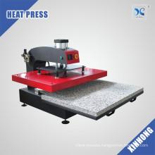 Video Inside XINHONG Automatic Pneumatic Large Format Heat Press Machine