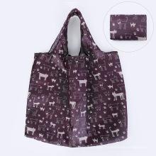 Wholesale High Quality Cheap Eco-Friendly Folding Shopping Bag Reusable Polyester Bag