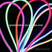 Flexible LED lumière AC 220V 240V SMD 2835 LED néon tube conduit imperméable à l'eau conduit lampe