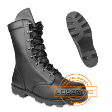 Tactical Boots Adopting Full-Grain Leather
