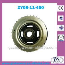 Pièces de voiture Mazda M3 Engine 1.6 Moteur Poulie de vilebrequin ZY08-11-400