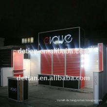 modulares System Island Messestand 6mx6m (20'x20 ') mit Slatwall für Internationale Ausstellung