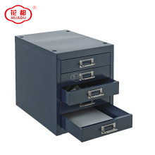 5 Drawers Metal Steel Desktop Drawer For Office