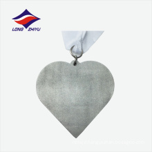 Silver colour die casting believe yourself nice price challenge medal