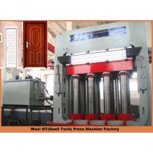 multilayer press for hdf moulded door skin