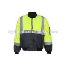 Огнезащитная жаростойкая куртка с наклейками на полибусы, сертификаты для справки