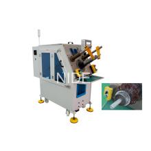 Machine d'insertion de bobineuse à servomoteur de stator moteur