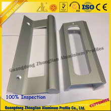 Lidar com perfil de alumínio com CNC Deep Processing