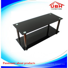 Double Layer Tempered Glass Display Stand