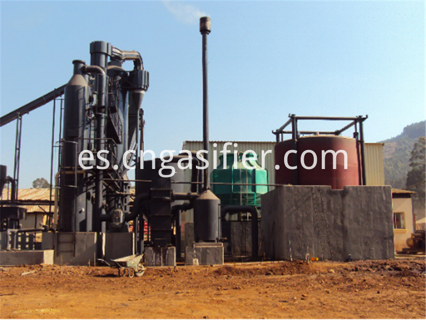 wood chips gasifier