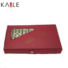 Jogo feito sob encomenda do dominó da promoção feito-à-medida