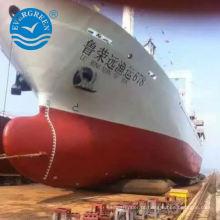 elevador do navio que lança o airbag de borracha pneumático de airbag