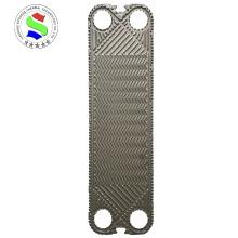 Plaque d'échangeur de chaleur à plaques H17 Alliage Hastelloy SS316L