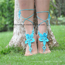 Crochet Barefoot Sandals Wedding Gift Yoga Socks