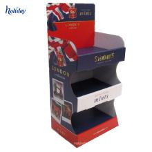 Paper Cigarette Display,Free Standing Cardboard Cigarette Sale Rack