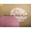 Le plus populaire Coaster en carton publicitaire, tapis de table en papier (B & C-G080)