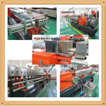 PA6 Co rotating twin screw pelletizing extruder