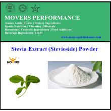Fabrication d'extrait de stévia d'approvisionnement (Stevioside) en poudre