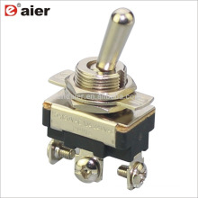 ASW-23-103A 12MM 15A SPDT Automotive 3 Pin Toggle Switch ON-OFF-ON