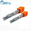 BFL Carbide End Mill Fresa CNC Thread End Mill Cutter
