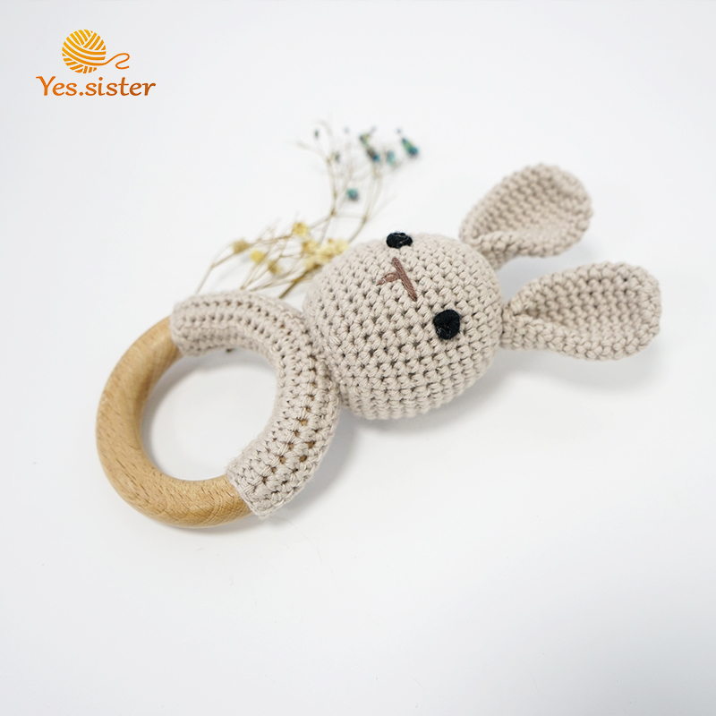 Crochet Buuny Teether